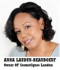 ANNA LAUDUN-BEAUBOEUF Entrepreneur in Cosmetics https://www.facebook.com/TheLaudun/app_251458316228 http://www.opensky.com/thelaudun
