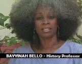 BAYYINAH BELLO - History Professor