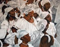 Hounsy Kanzo - Oil on Canvas - 48 x 60