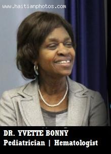 DR. YVETTE BONNY Pediatrician & Hematologist