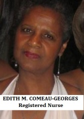 EDITH M. COMEAU-GEORGES Registered Nurse