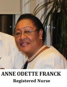 ANNE ODETTE FRANCK Registered Nurse