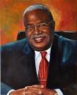 Portrait of Gérard Latortue - Haiti PM 2004-2006 - 16 x 20