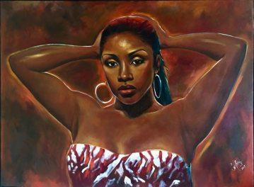 "Portrait of TIDO - Oil on Canvas - 24""x36"""