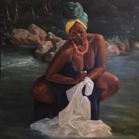 Rivière Froide - Oil on Canvas - 60 x 48
