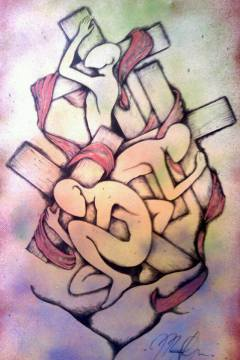Worthy to bear it.(my cross, my annointing,my life) take it up with your hands,sustain it, uphold it carry it off in yahshua's name.sketch your name in it.