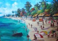 JUDITH SALOMON-DARUCAUD 13 Boca Chica Beach in the Dominican Republic