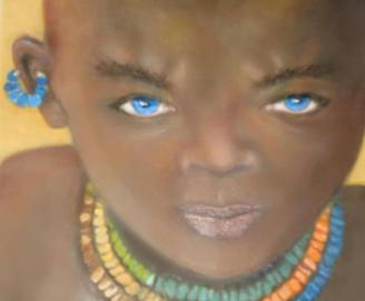 JUDITH SALOMON-DARUCAUD 18 young boy from the Suri Tribe in Africa