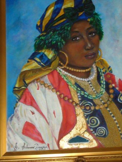 JUDITH SALOMON-DARUCAUD 19 AFRICAN PRINCESS