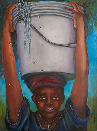 JUDITH SALOMON-DARUCAUD - Water Boy