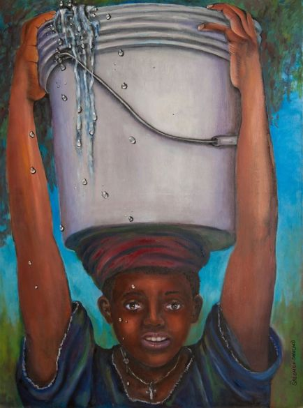 JUDITH SALOMON-DARUCAUD - Water Boy