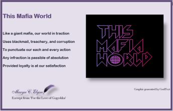 This mafia world