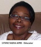 EDU-Educator AIME, Lynne Nadia