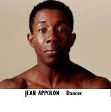 ENT-Dance Choreographer Appolon, Jean