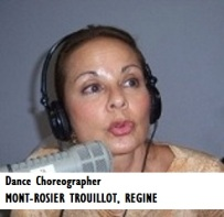 ENT-Dance Choreographer MONT-ROSIER TROUILLOT, REGINE