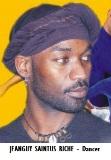 ENT-Dance Choreographer Saintus Riché, Jeanguy