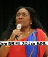 ENT-Singer DEMESMIN, CAROLE aka MAROULE