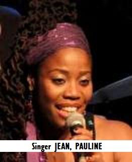 ENT-Singer JEAN, PAULINE