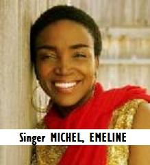 ENT-Singer MICHEL, EMELINE