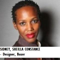 FASH-SIDNEY, SHEILLA CONSTANCE - Designer, Boxer