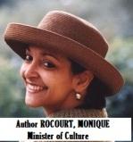GOV-CABINET ROCOURT, MONIQUE, [Minister of Culture]