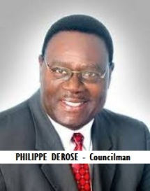GOV-CITY DEROSE, PHILIPPE - Councilman