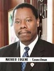 GOV-CITY EUGENE, MATHIEU - Councilman
