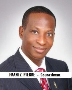 GOV-CITY PIERRE, FRANTZ - Councilman