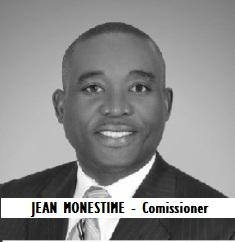 GOV-COUNTY MONESTIME, Jean - Comissioner