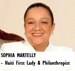 GOV-PRES MARTELLY, Sophia - First Lady