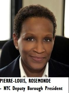 LAW-PIERRE-LOUIS, Rosemonde - Manhattan Deputy Borough President