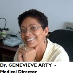 MED-MD Arty, Geneviève - medical director