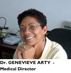 MED-MD Arty, Geneviève - medical director