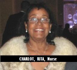 MED-RN CHARLOT, RITA, Nurse
