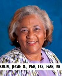 MED-RN COLIN, JESSIE M., PhD, FRE, FAAN, Nurse
