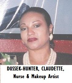 MED-RN DUSSEK-HUNTER, CLAUDETTE, Nurse