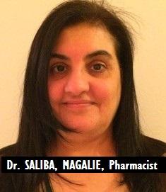 MED-RX SALIBA, MAGALIE, Pharmacist