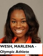 SPOR-WESH, MARLENA - Olympic Athlete