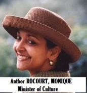 WRI-Author ROCOURT, MONIQUE, [Minister of Culture]