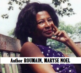 WRI-Author ROUMAIN, MARYSE NOEL
