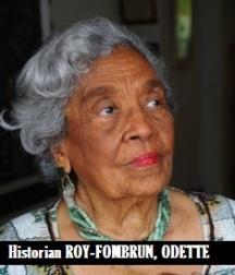 WRI-Historian ROY-FOMBRUN, ODETTE