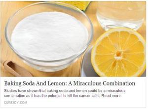 TRUCS ASTUCES SANTE - Lemon & Baking Soda
