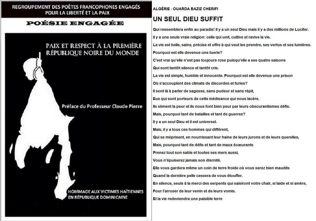 Poesie Engagee Algérie Ouarda Baziz Cherifi 1 Coucou