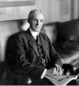 Henry Ford - Image Credit: hemmings (dot) com