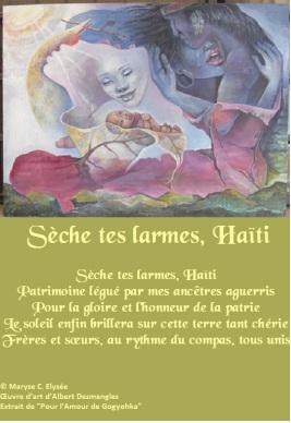 Sèche tes larmes, Haïti
