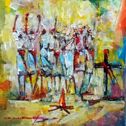 MONDY ART_02 La Dance au boucan