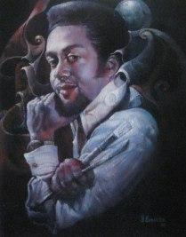 Autoportrait de l'artiste