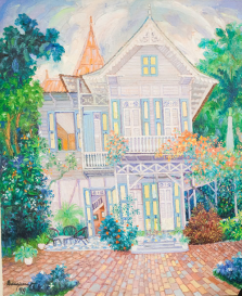 ERIC_GIRAULT-Gingerbread house 2