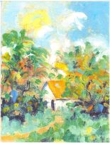 ERIC_GIRAULT-House with Orange Roof