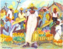 ERIC_GIRAULT-Market Scene, 2005